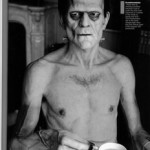 Frankenstein as sick looking MN Certified Food Manager
